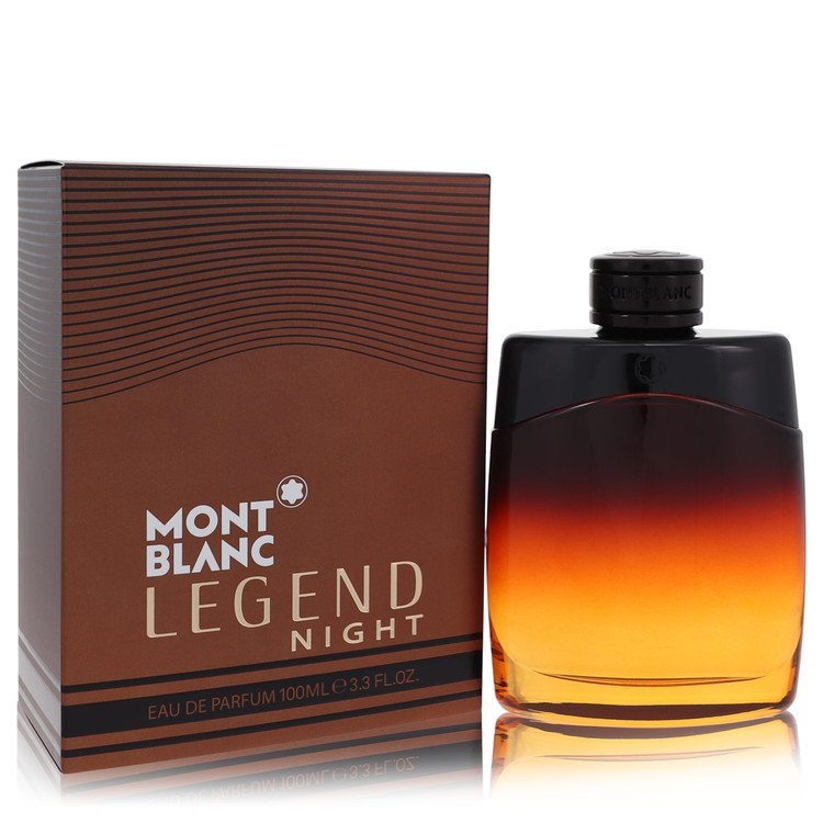 Montblanc Legend Night Cologne by Mont Blanc 100 ml EDP Spay for Men