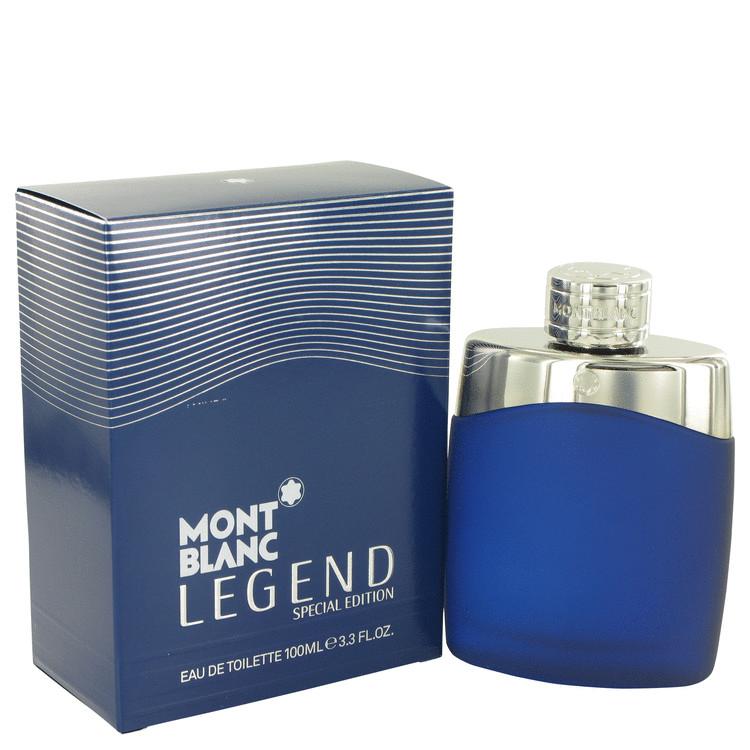 Montblanc Legend Cologne 100 ml Eau De Toilette Spray (Special Edition-Blue) for Men