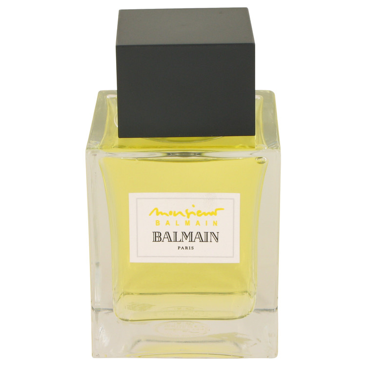Monsieur Balmain Cologne 100 ml Eau De Toilette Spray (unboxed) for Men