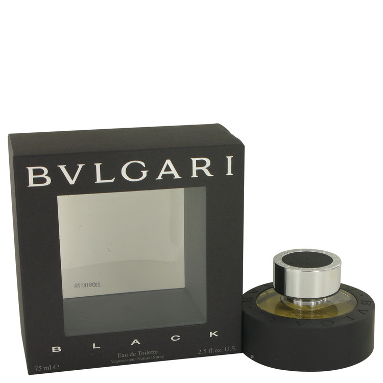 Bvlgari Black (bulgari) Cologne 75 ml Eau De Toilette Spray (Unisex) for Men