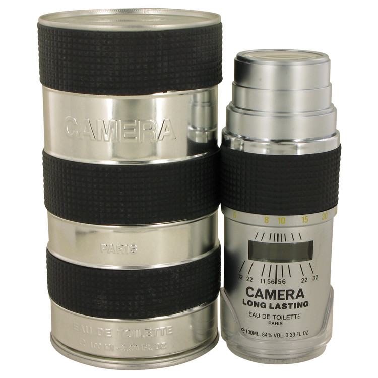 Camera Long Lasting Cologne 100 ml Eau De Toilette Spray (Tin Bottle) for Men
