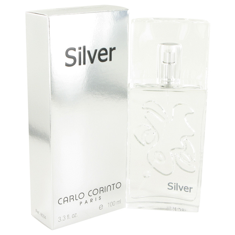 CARLO CORINTO SILVER by Carlo Corinto for Men Eau De Toilette Spray 3.4 oz