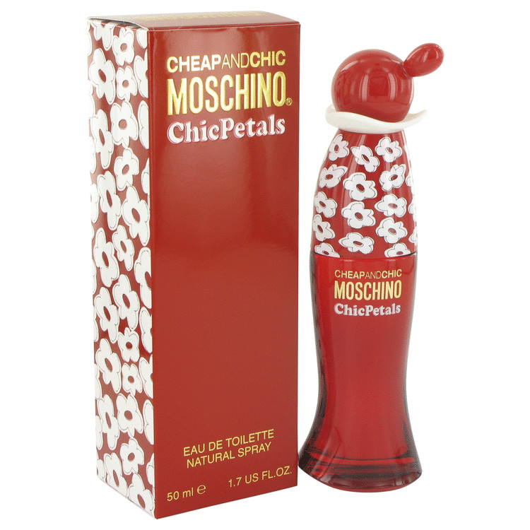 Cheap & Chic Petals Perfume by Moschino 50 ml EDT Spay for Women