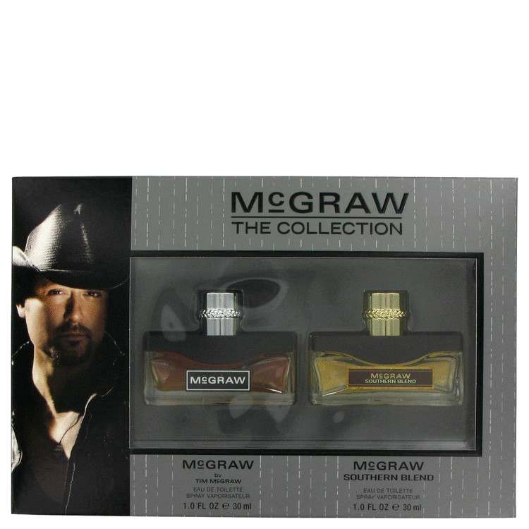 Mcgraw Gift Set -- Gift Set - 1 oz Eau de Toilette Spray + 1 oz Eau De Toilette Spray Southern Blend (The Collection) for Men