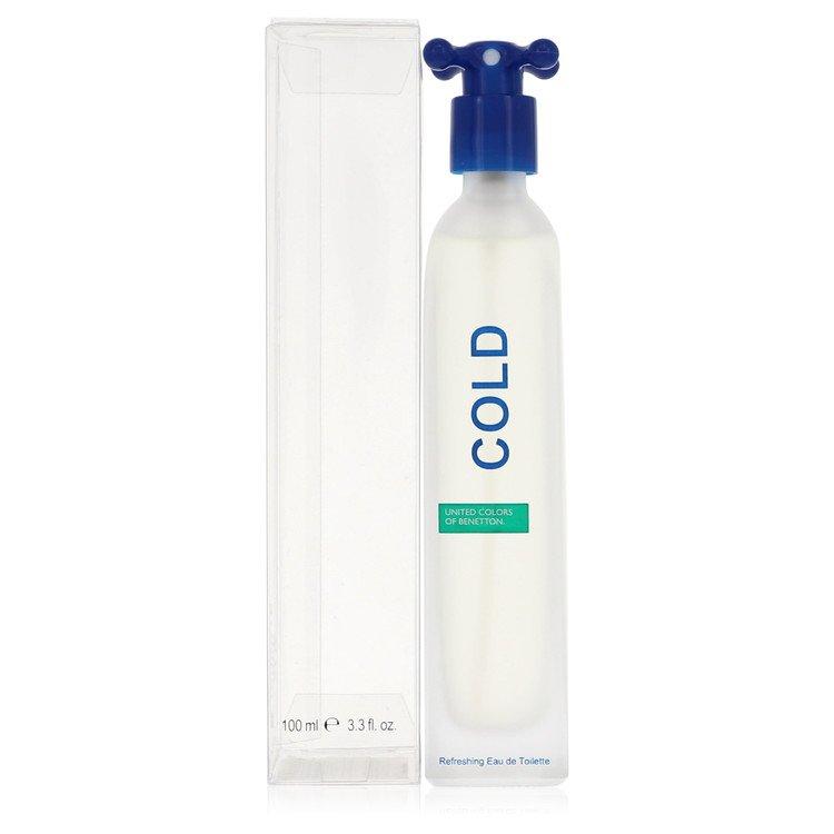 COLD by Benetton –  Eau De Toilette Spray (Unisex) 3.4 oz 100 ml