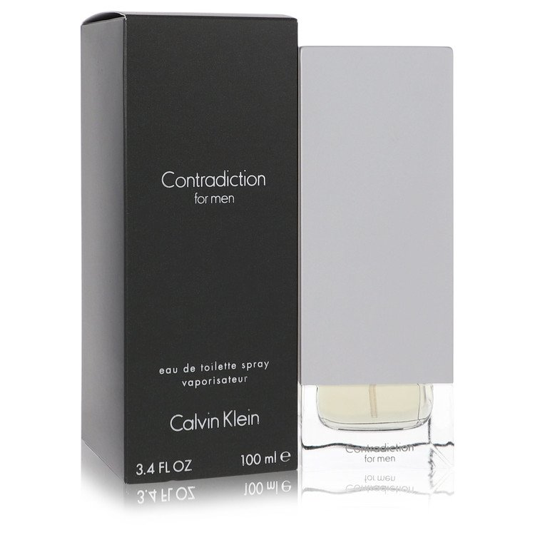 Contradiction Cologne by Calvin Klein 100 ml EDT Spay for Men