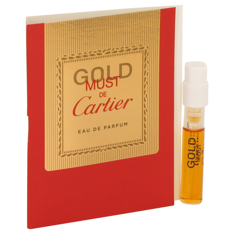 Must De Cartier Gold by Cartier for Women Vial (sample) .05 oz