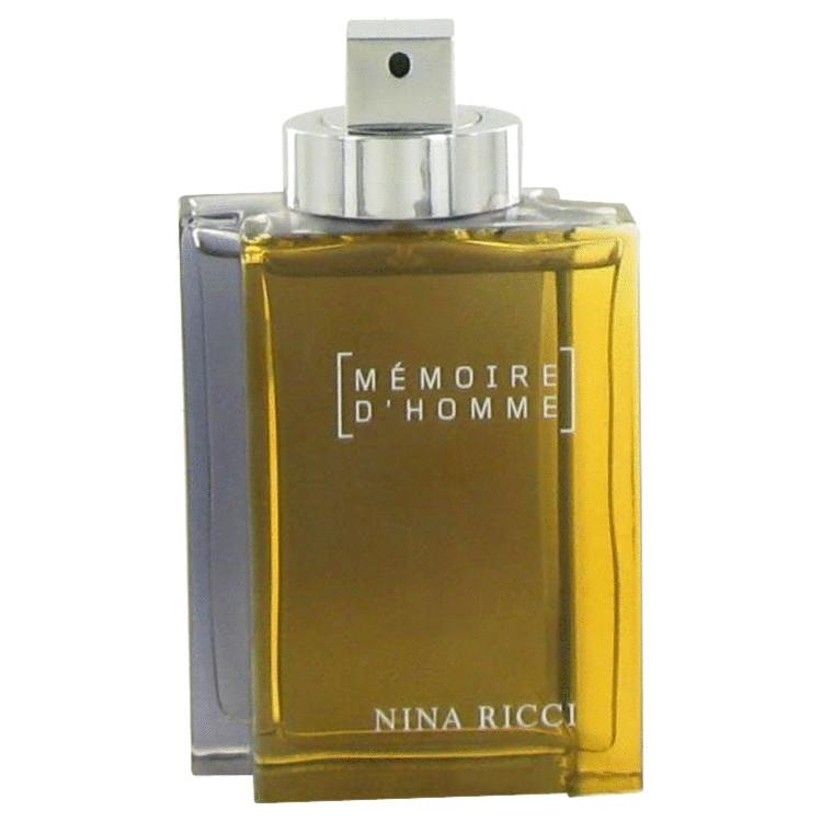 Memoire D'homme Cologne by Nina Ricci 100 ml EDT Spray(Tester) for Men