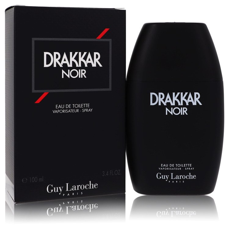 Drakkar Noir by Guy Laroche Men's Eau De Toilette Spray 3.4 oz