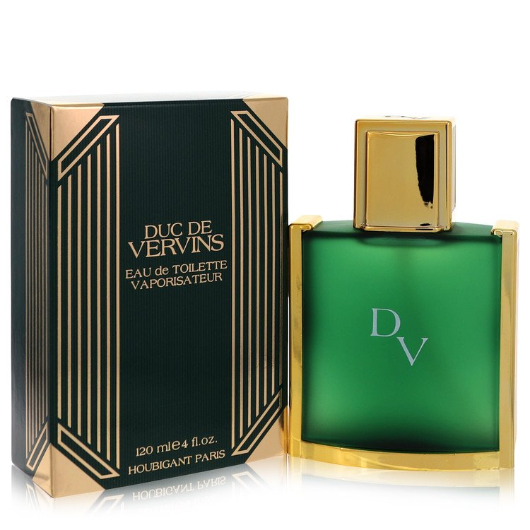 Duc De Vervins Cologne by Houbigant 4 oz EDT Spray for Men