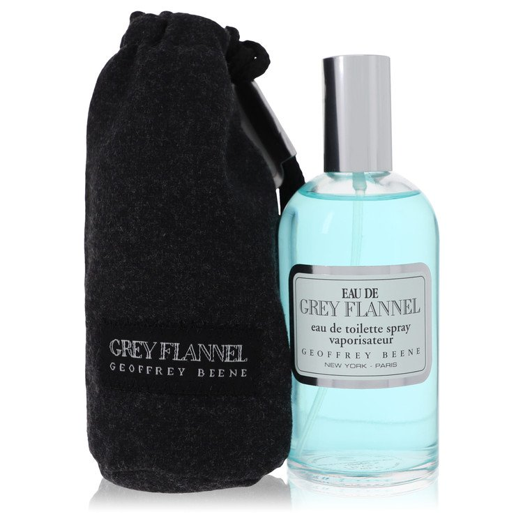 Eau De Grey Flannel Cologne by Geoffrey Beene 120 ml EDT Spay for Men