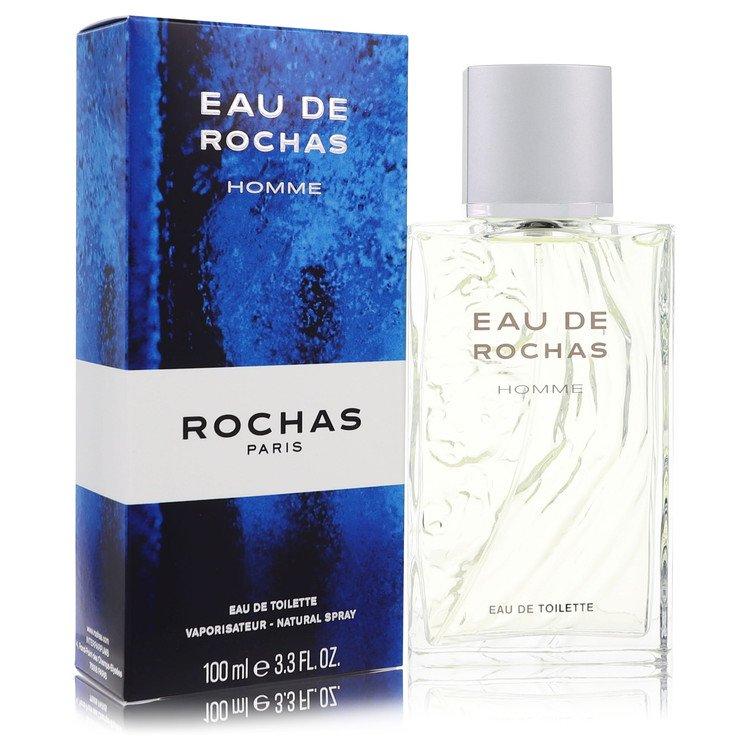 Eau De Rochas Cologne by Rochas 3.4 oz EDT Spray for Men