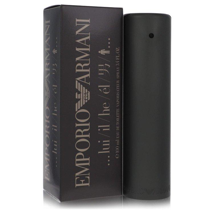 EMPORIO ARMANI by Giorgio Armani for Men Eau De Toilette Spray 3.4 oz