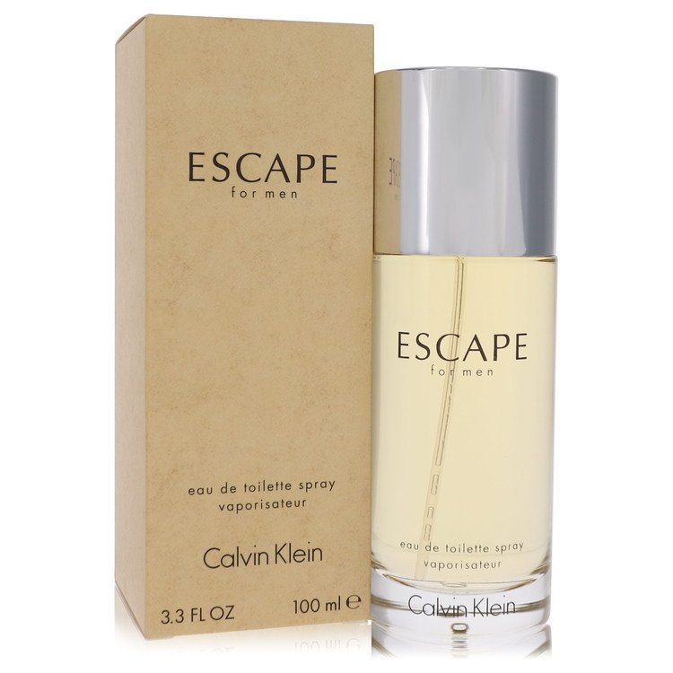 Escape by Calvin Klein Men's Eau De Toilette Spray 3.4 oz