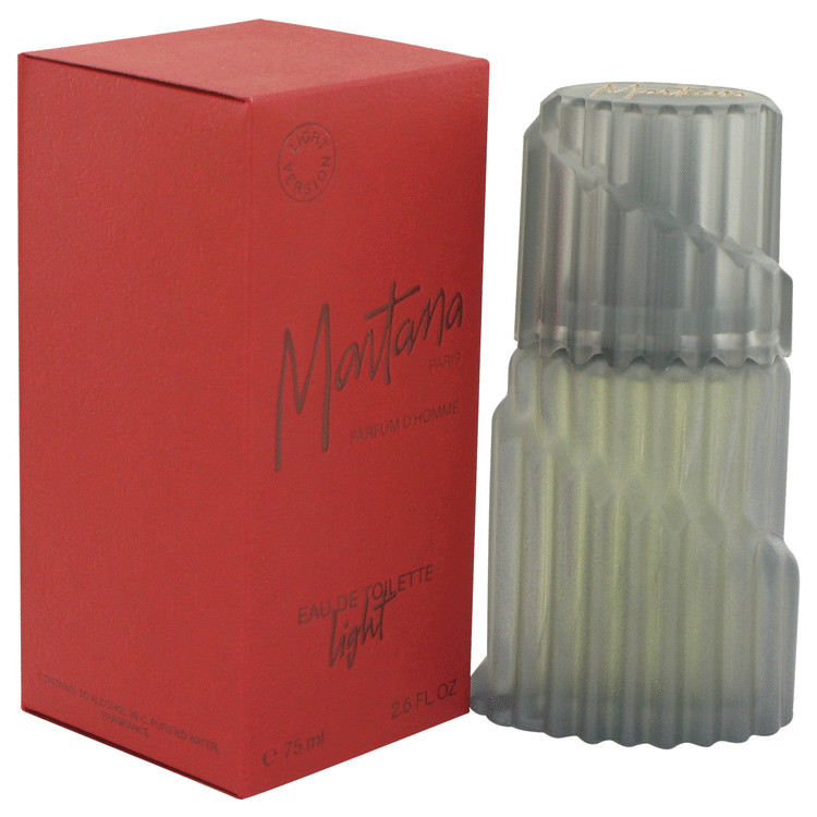 Montana Cologne by Montana 75 ml Eau De Toilette Light Splash for Men
