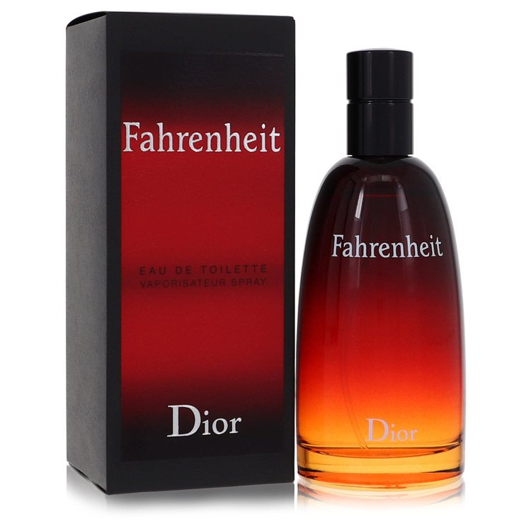 Fahrenheit Cologne by Christian Dior 3.4 oz EDT Spay for Men