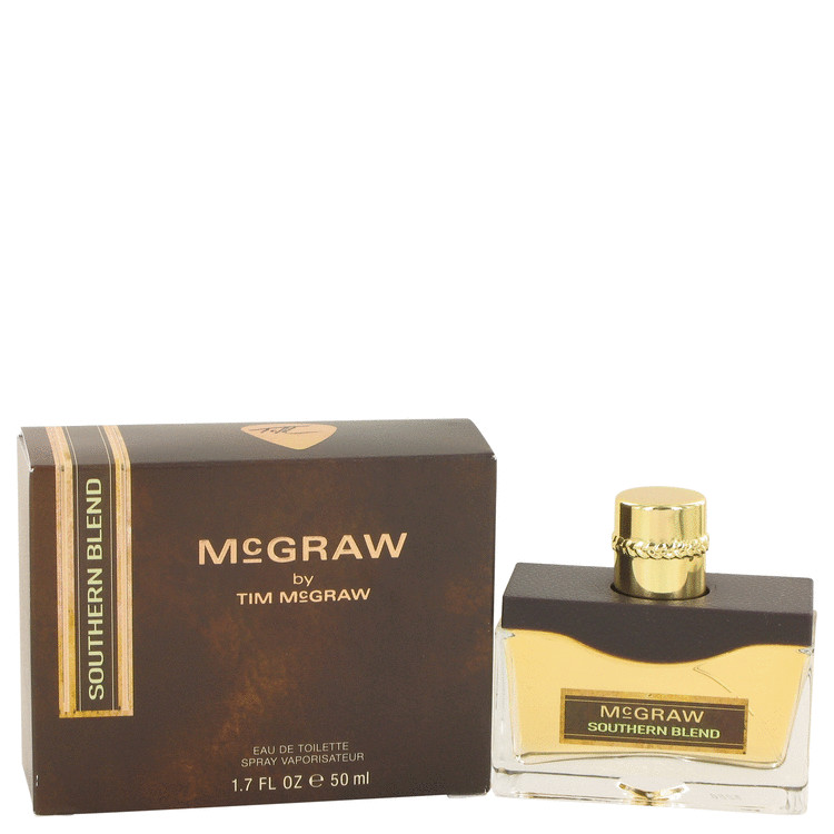 Mcgraw Southern Blend Cologne by Tim Mcgraw 50 ml EDT Spay for Men