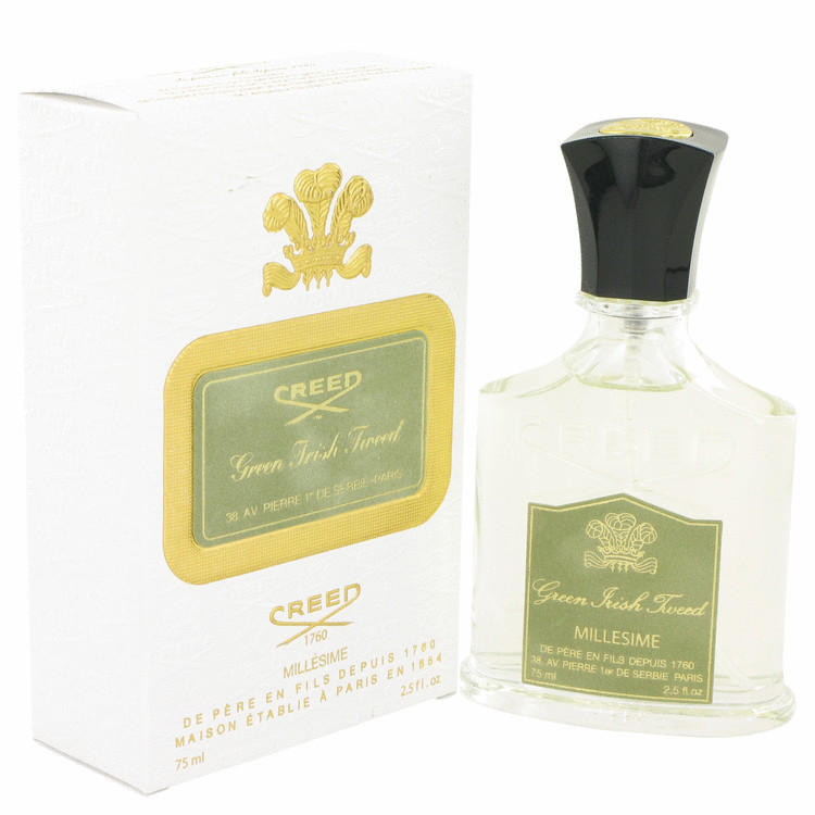 Green Irish Tweed Cologne by Creed 2.5 oz Millesime Spray for Men