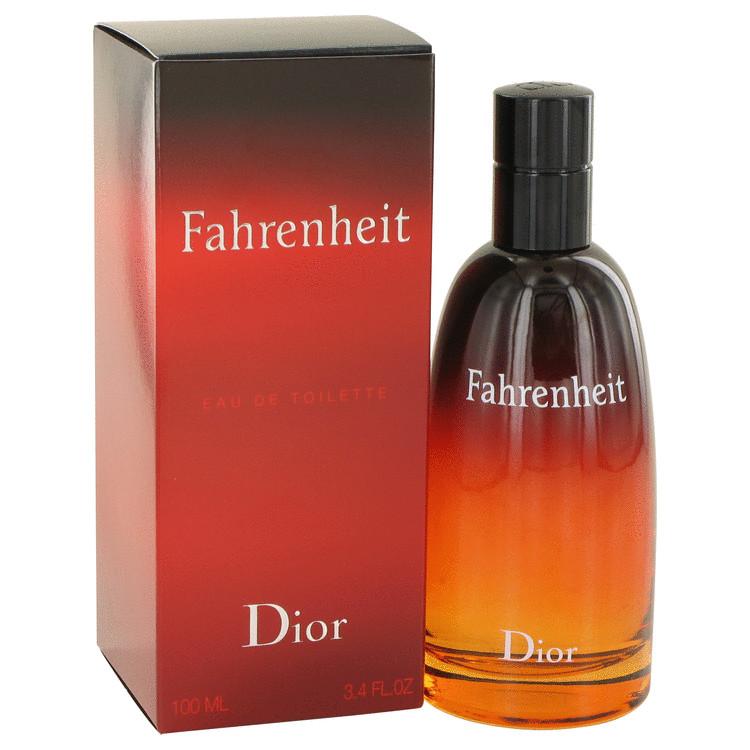 Fahrenheit Cologne by Christian Dior 100 ml Eau De Toilette for Men