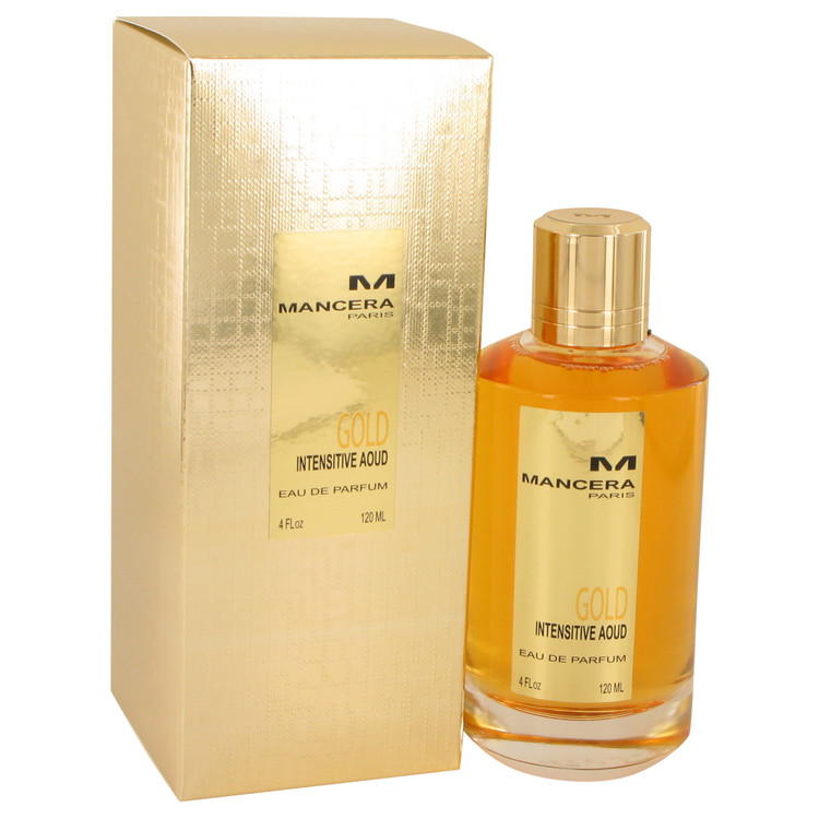 Mancera Intensitive Aoud Gold by Mancera – Eau De Parfum Spray (Unisex) 4.0 oz (120 ml)