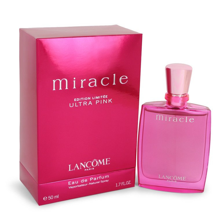 Miracle Ultra Pink Perfume by Lancome 50 ml EDP Spay for Women