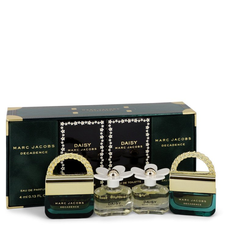 Marc Jacobs Decadence Gift Set -- Gift Set - Mini Gift Set includes two Daisy Travel Sprays and Two Decadence Travel Sprays all .13 oz for Women