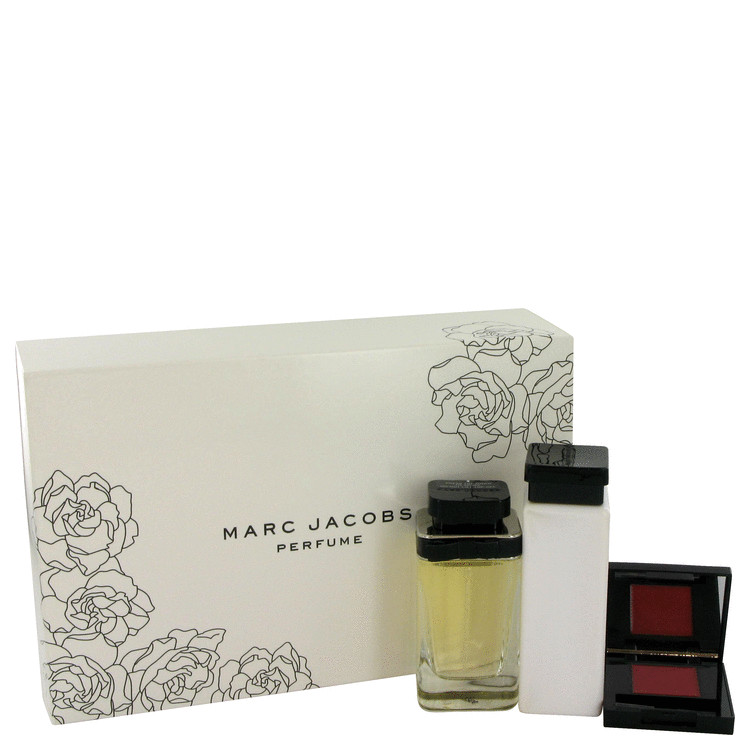 Marc Jacobs for Women, Gift Set (1 oz EDP Spray + 1.7 oz Body Lotion + .4 oz Lip Gloss)
