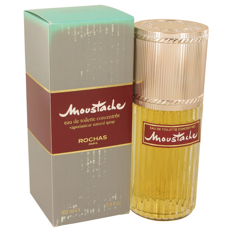 Moustache Cologne 100 ml Eau De Toilette Concentree Spray (Damaged Box) for Men