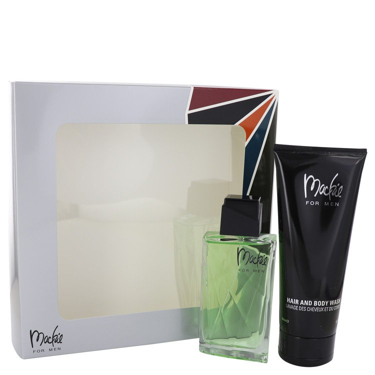 Mackie for Men, Gift Set (3.4 oz EDT Spray + 6.7 oz Shower Gel)