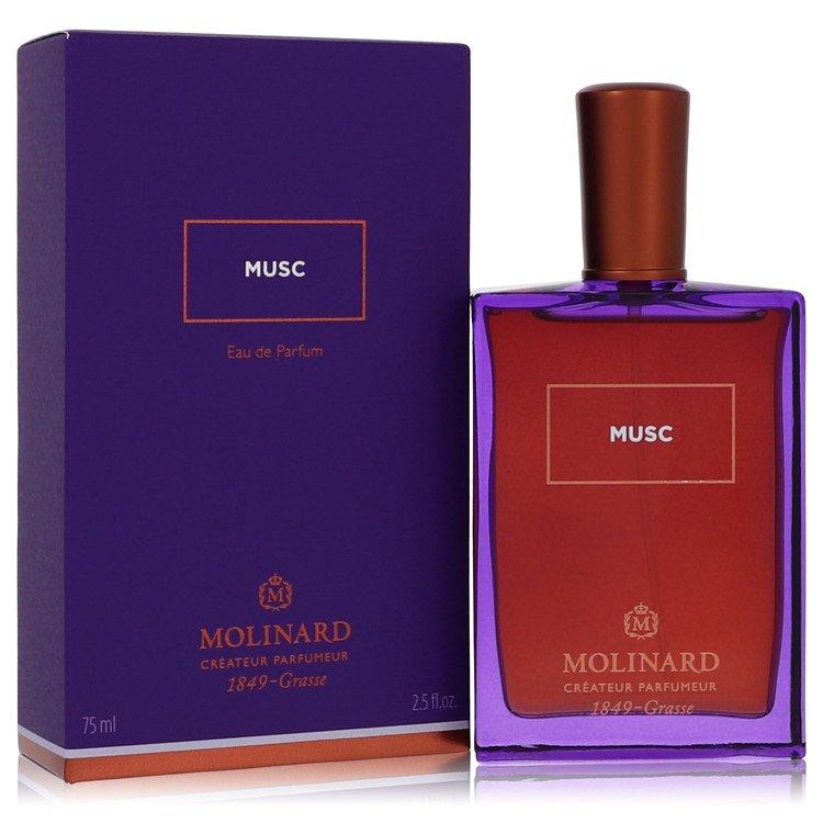 Molinard Musc Perfume 75 ml Eau De Parfum Spray (Unisex) for Women