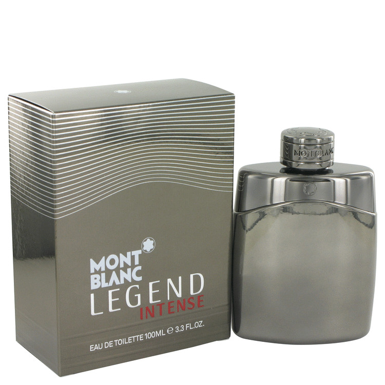 Montblanc Legend Intense Cologne by Mont Blanc 100 ml EDT Spay for Men
