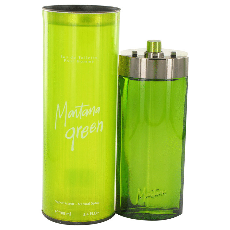 Montana Green Cologne by Montana 100 ml Eau De Toilette Spray for Men