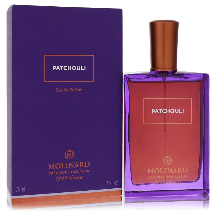 Molinard Patchouli Perfume 75 ml Eau De Parfum Spray (Unisex) for Women