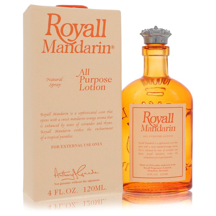 Royall Mandarin by Royall Fragrances for Men All Purpose Lotion / Cologne 4 oz