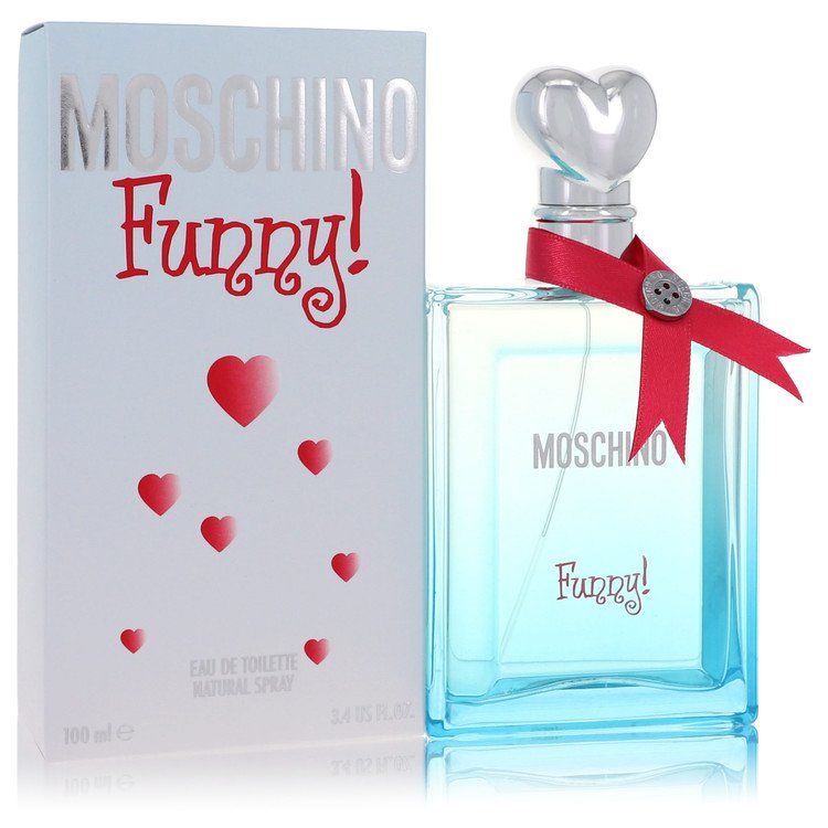 Moschino Funny by Moschino for Women Eau De Toilette Spray 3.4 oz