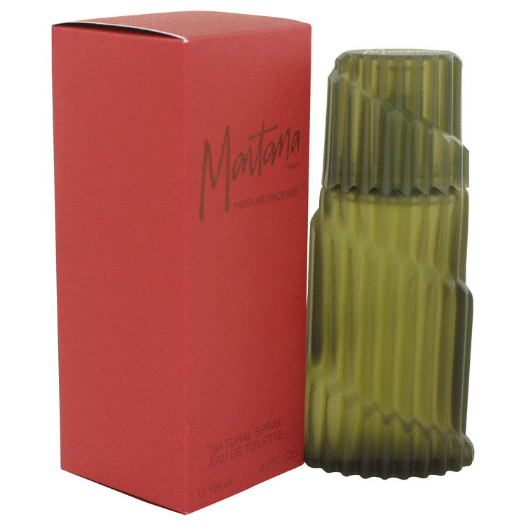 Montana Red Cologne by Montana 125 ml Eau De Toilette Spray for Men