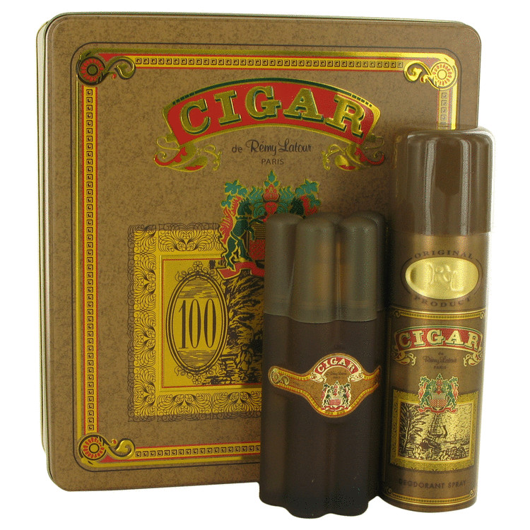 CIGAR by Remy Latour Gift Set — 3.3 oz Eau De Toilette Spray + 6.6 oz Deodorant