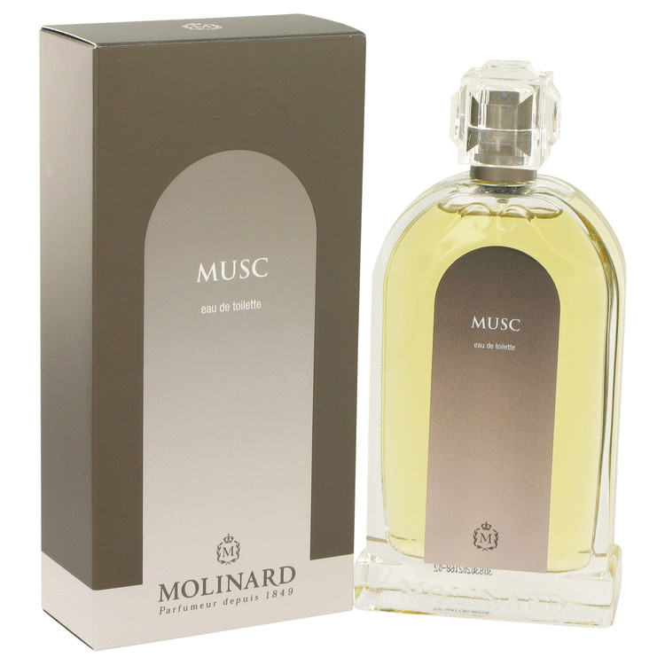 Musc Perfume by Molinard 100 ml Eau De Toilette Spray for Women