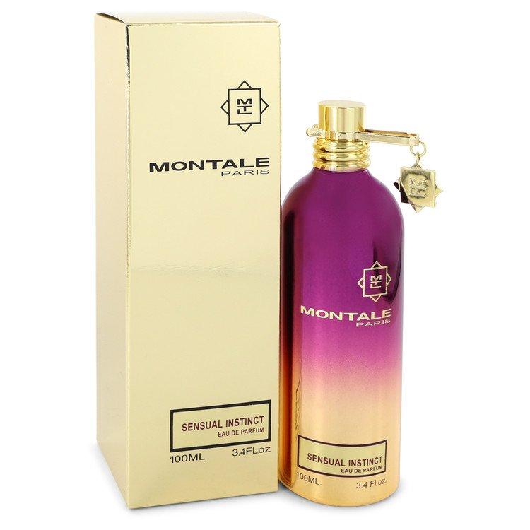 Montale Sensual Instinct by Montale Eau De Parfum Spray (Unisex) 3.4 oz for Women