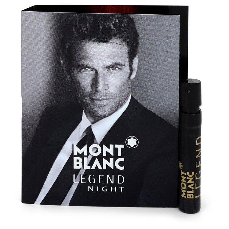 Montblanc Legend Night by Mont Blanc Men's Vial (sample) .04 oz