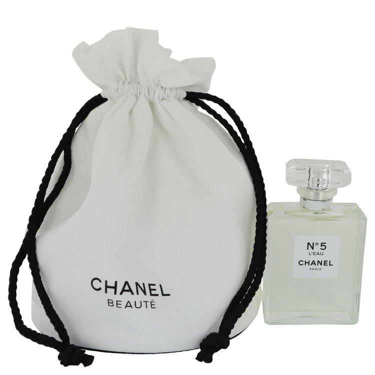 Chanel No. 5 L'eau Perfume 100 ml Eau De Toilette Spray in free Chanel tote bag for Women