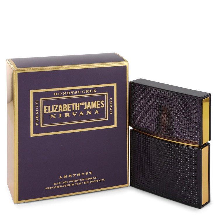 Nirvana Amethyst by Elizabeth and James Eau De Parfum Spray (Unisex) 1 oz for Women