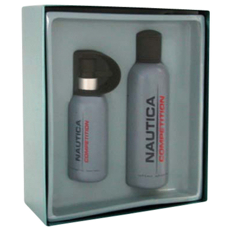 Nautica Competition Gift Set -- Gift Set - 2.4 oz Cologne Spray + 2.4 oz After Shave for Men