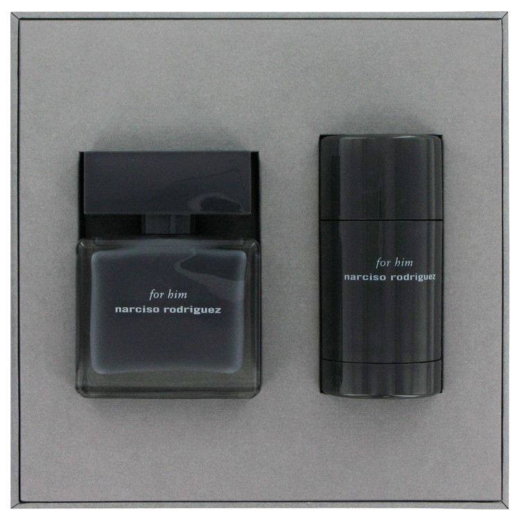 Narciso Rodriguez Gift Set -- Gift Set - 1.6 oz Eau De Toilette Spray + 2.6 oz Deodorant Stick for Men