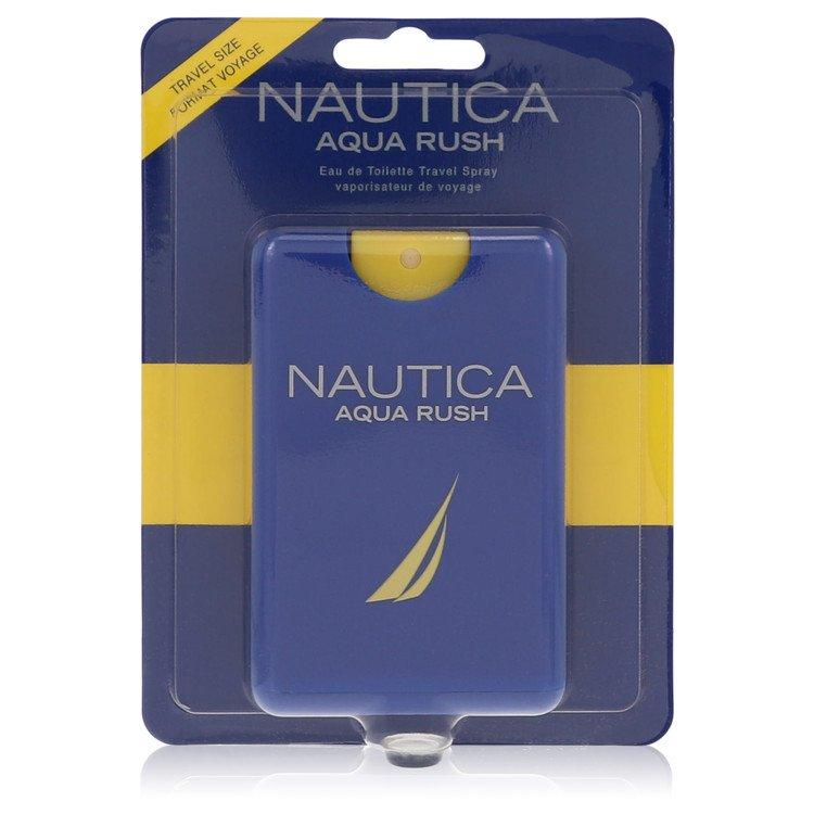 Nautica Aqua Rush by Nautica for Men Eau De Toilette Travel Spray .67 oz