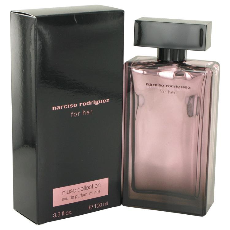 Narciso Rodriguez Musc Perfume 100 ml Eau De Parfum Intense Spray for Women