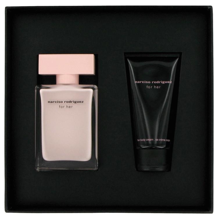 Narciso Rodriguez Gift Set -- Gift Set - 1.6 oz Eau De Parfum Spray + 1.7 oz Body Cream for Women