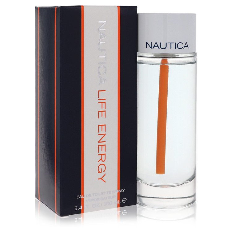 Nautica Life Energy Cologne by Nautica 100 ml EDT Spay for Men