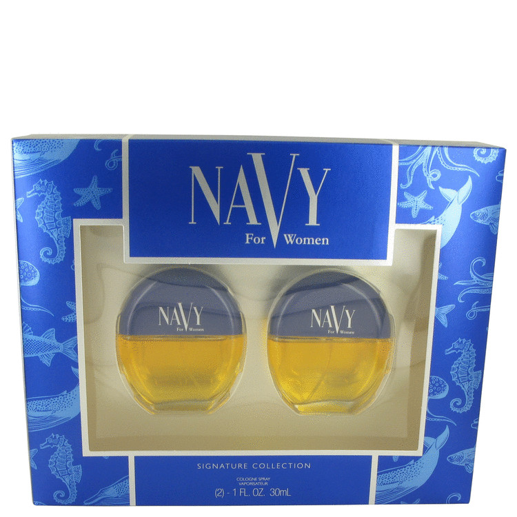 NAVY by Dana for Women Gift Set -- Two 1 oz Cologne Sprays