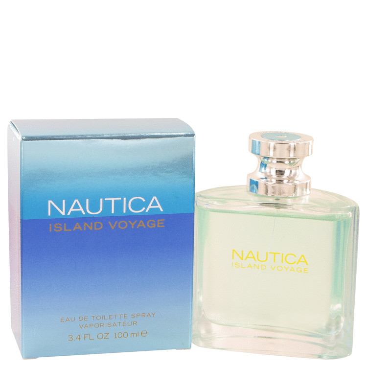 Nautica Island Voyage Cologne by Nautica 100 ml EDT Spay for Men